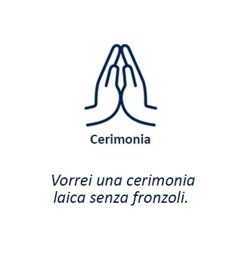 Cerimonia – Vorrei una cerimonia laica senza fronzoli